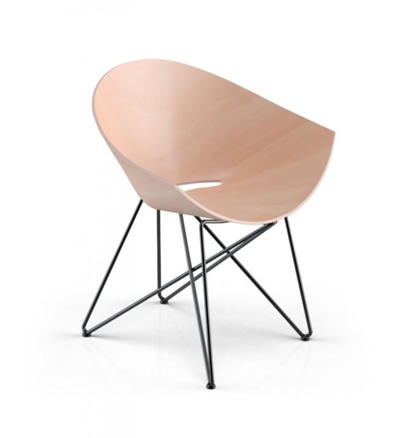 Fotel RM56 WOOD VZÓR - bogata kolorystyka