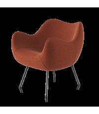 Fotel RM58 Soft VZÓR - kolekcja tkanin ULTIMA, na nóżkach