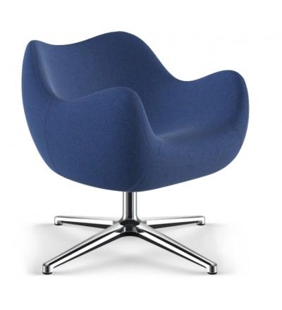 Fotel tapicerowany RM58 Soft F VZÓR - tkanina ULTIMA, podstawa krzyżakowa