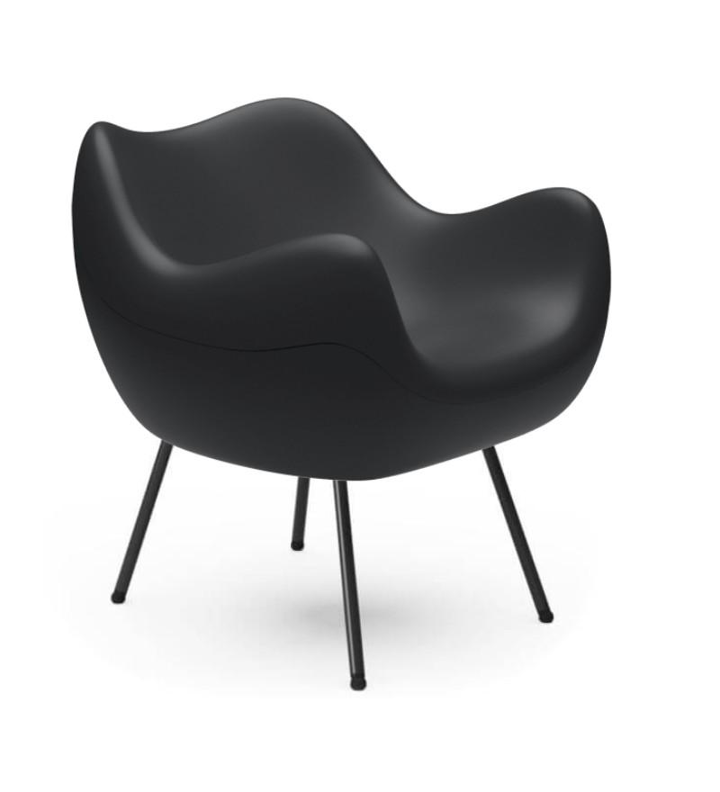 Fotel RM58 Mat VZÓR - czarny