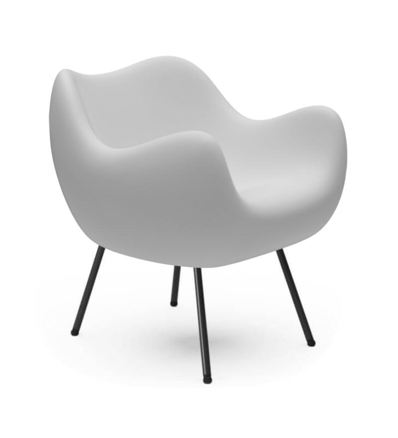 Fotel RM58 Mat VZÓR - biały