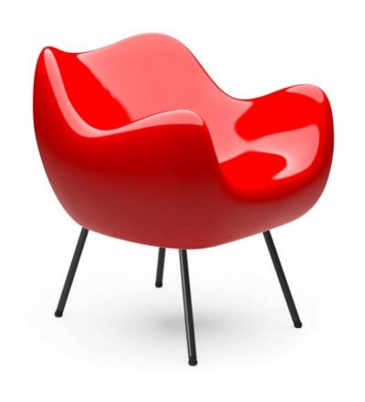 Fotel RM58 Classic VZÓR - czerwony