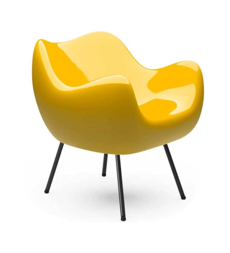 Fotel RM58 Classic VZÓR - żółty