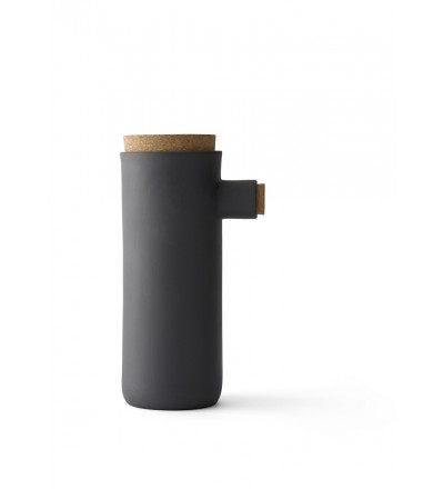 Pojemnik gliniany Spoonless Menu - rozmiar L, carbon