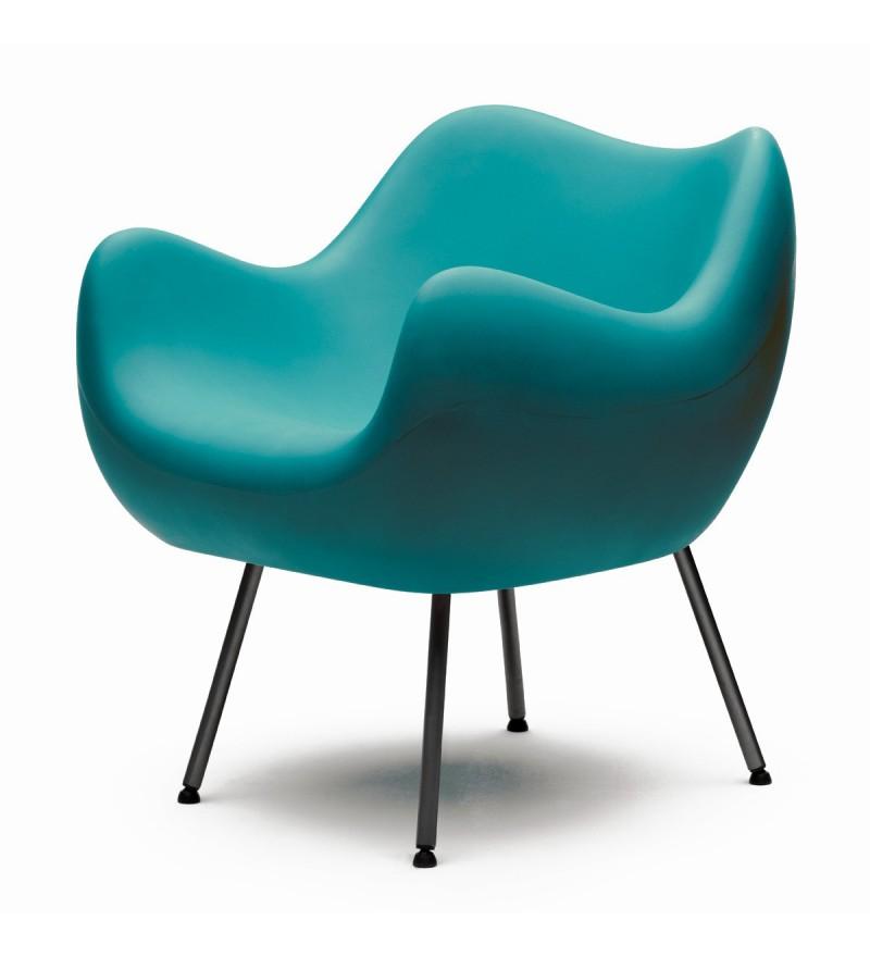 Fotel RM58 Mat VZÓR - turkusowy