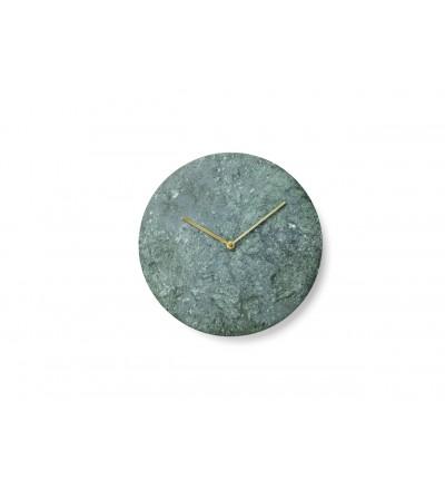 Zegar ścienny Marble Wall Menu - zielony