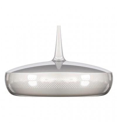 Lampa Clava Dine Steel V2 UMAGE - chrom, białe wnętrze