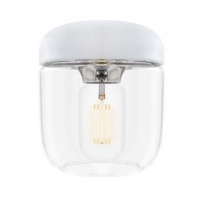 Lampa Acorn White Steel UMAGE - chrom