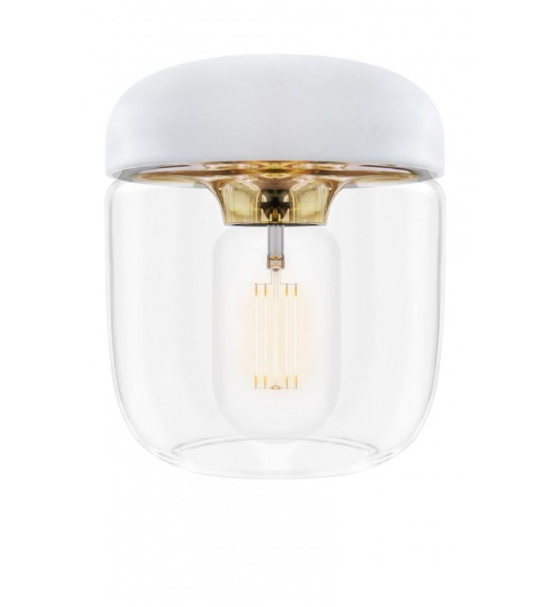 Lampa Acorn White Brass UMAGE - mosiądz