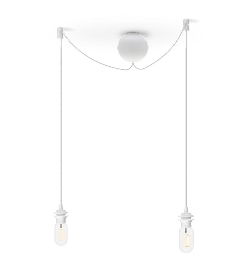 Podwójne zawieszenie do lamp Cannonball Cluster 2 UMAGE - białe