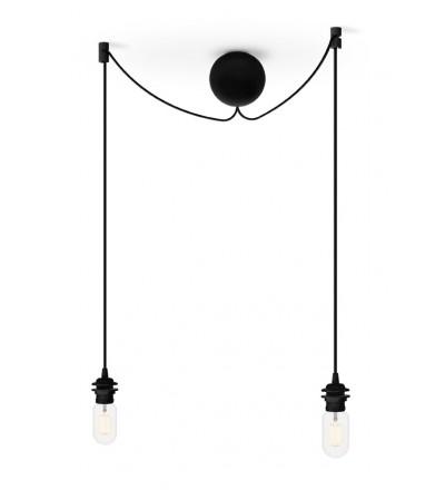 Podwójne zawieszenie do lamp Cannonball Cluster 2 UMAGE - czarne