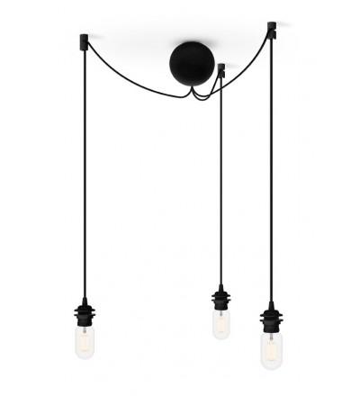 Potrójne zawieszenie do lamp Cannonball Cluster 3 UMAGE (dawniej VITA Copenhagen) - czarne