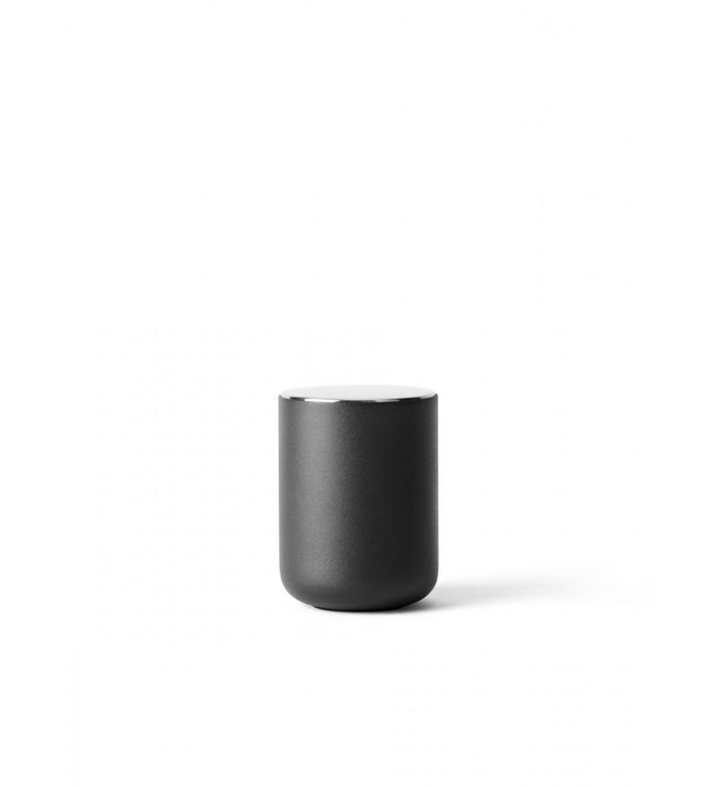 Pojemnik łazienkowy Bath Container Norm Menu - czarny