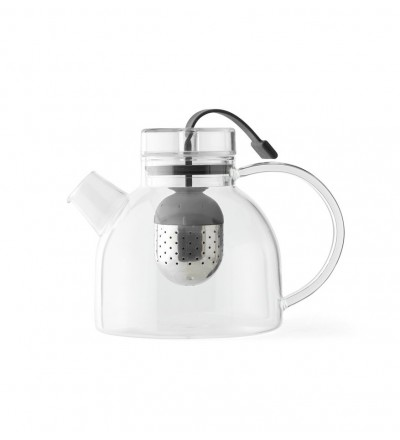 Dzbanek do herbaty Kettle Teapot Menu - 0.75l, szklany