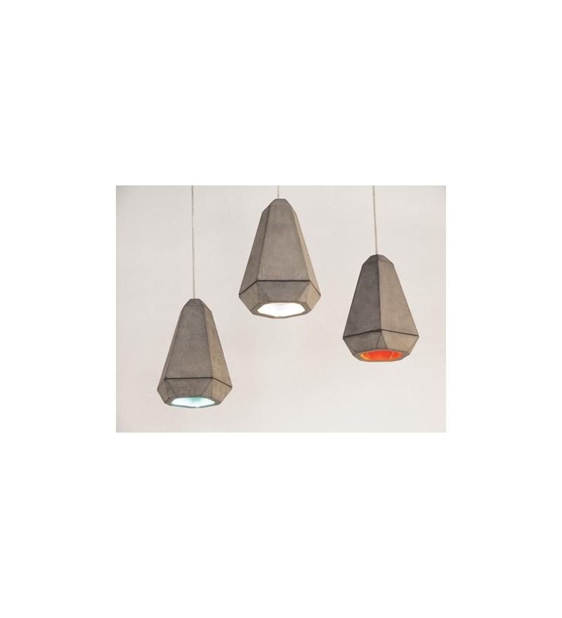 Lampa wisząca z betonu Portland Innermost