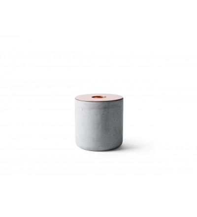 Świecznik Chunk Menu - betonowy, rozmiar L