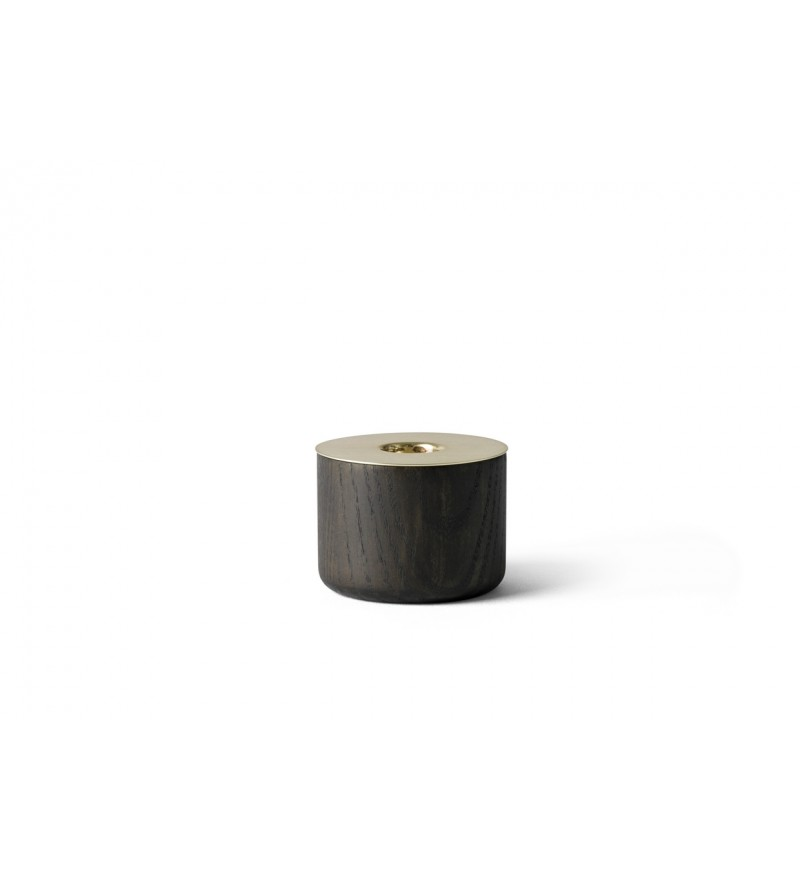Świecznik Chunk Menu - drewniany, rozmiar M