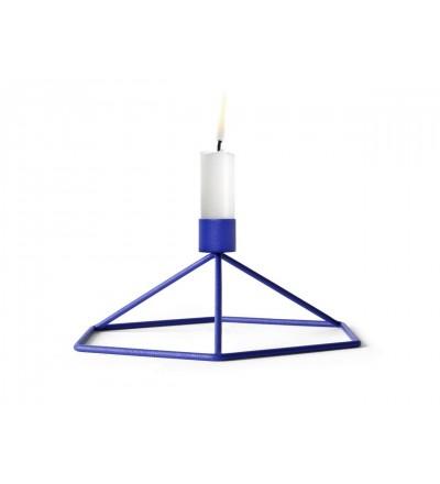 Świecznik POV Menu - cobalt blue