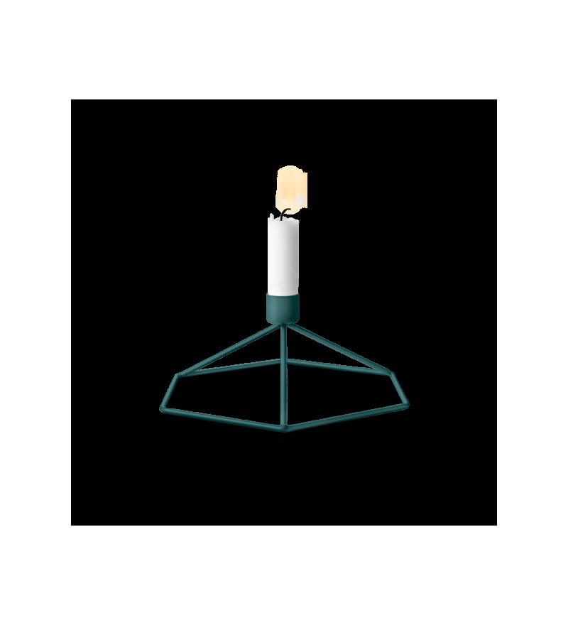 Świecznik POV Menu - petroleum