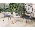 Krzesło WM String Lounge Chair Menu - białe