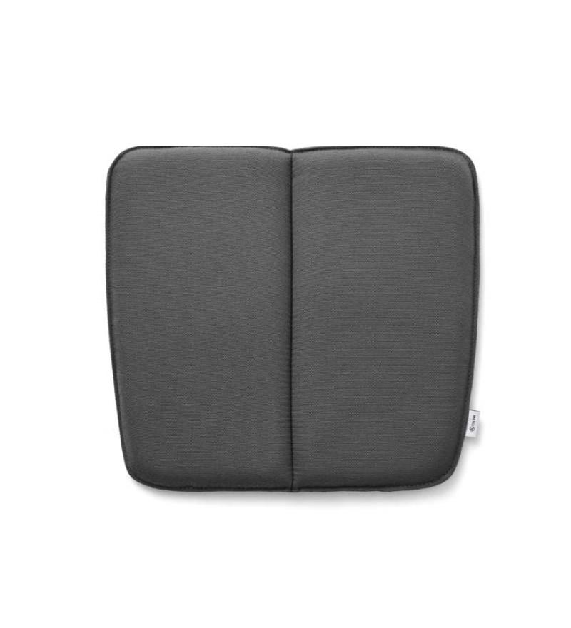 Poduszka WM String Lounge Cushion Menu - ciemnoszara, wersja na zewnątrz