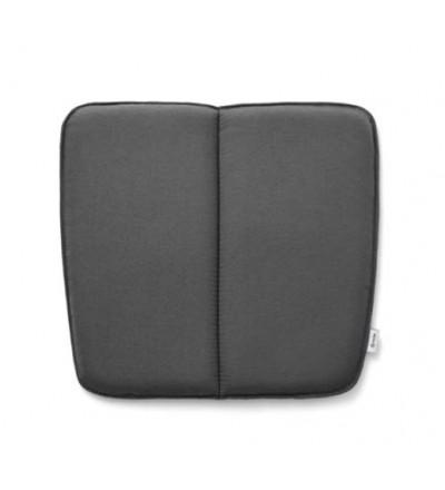 Poduszka WM String Dining Cushion Menu - ciemnoszara, wersja na zewnątrz