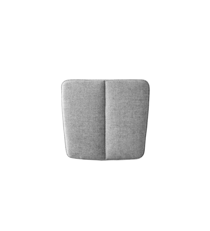 Poduszka WM String Dining Cushion Menu - jasnoszara, wersja do wnętrza