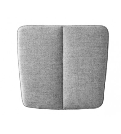 Poduszka WM String Lounge Cushion Menu - jasnoszara, wersja do wnętrza