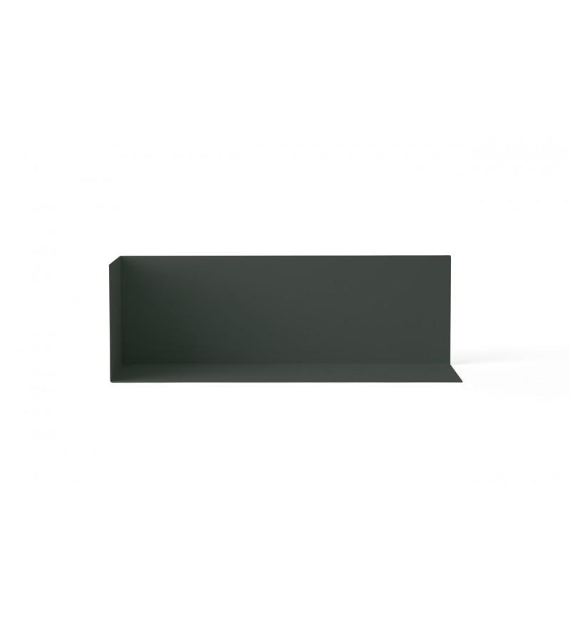 Półka narożna Corner Shelf Menu - ciemnozielona, rozmiar M