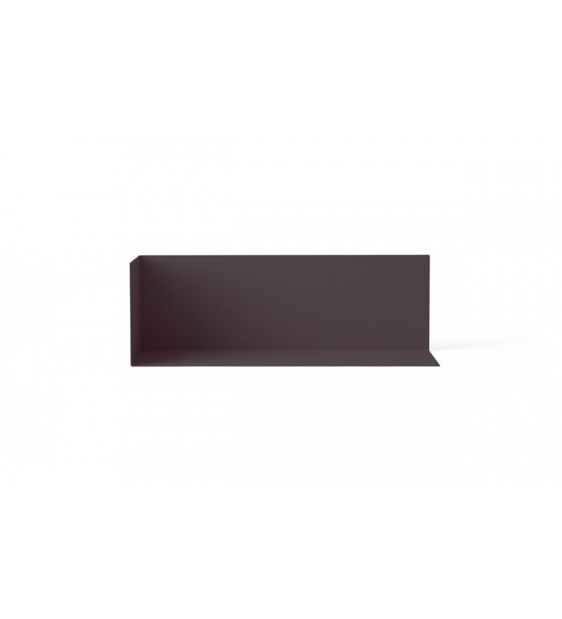 Półka narożna Corner Shelf Menu - fioletowa, rozmiar M