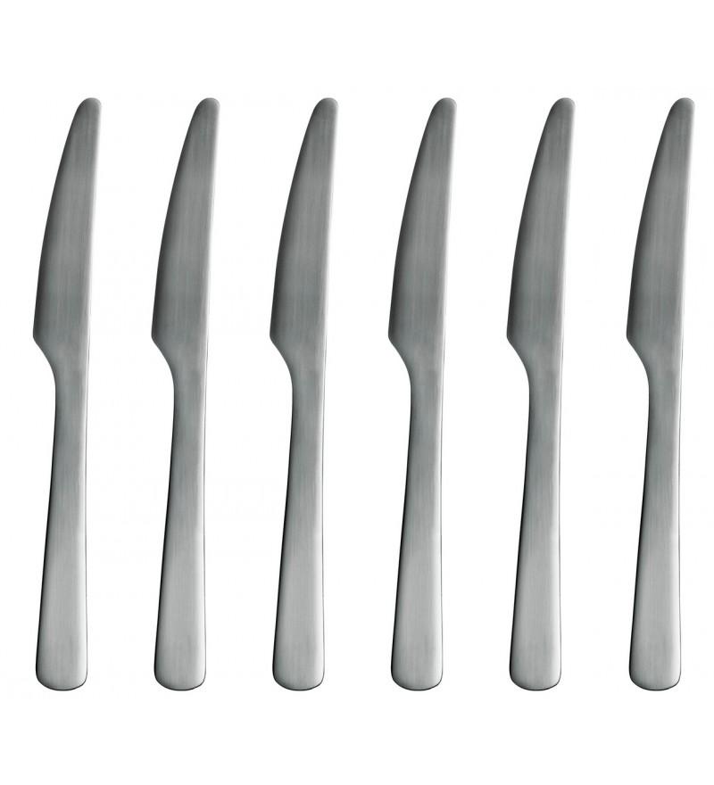 Zestaw noży Knives Normann Copenhagen - stalowy, 6 szt.