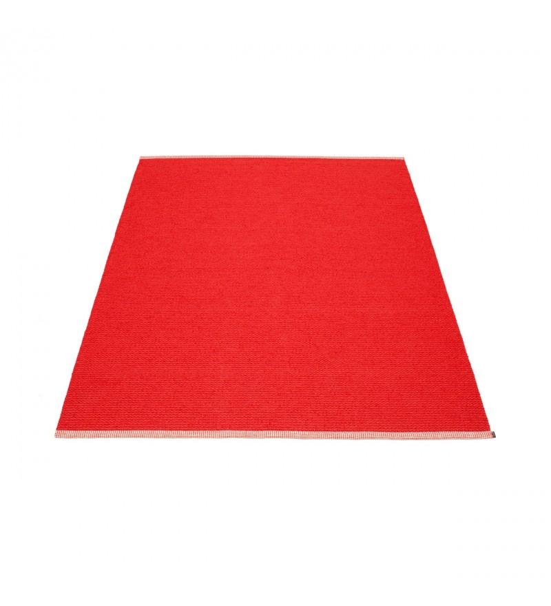 Dywan MONO Pappelina - red / coral red, różne rozmiary