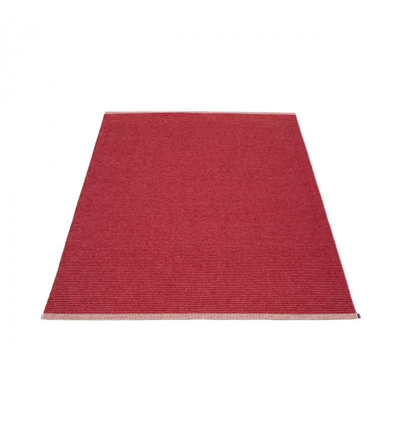 Dywan MONO Pappelina - blush / dark red, różne rozmiary