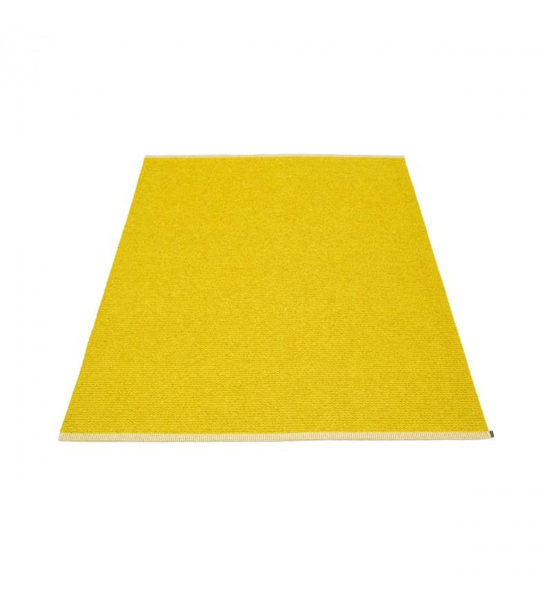 Dywan MONO Pappelina - mustard / lemon, różne rozmiary