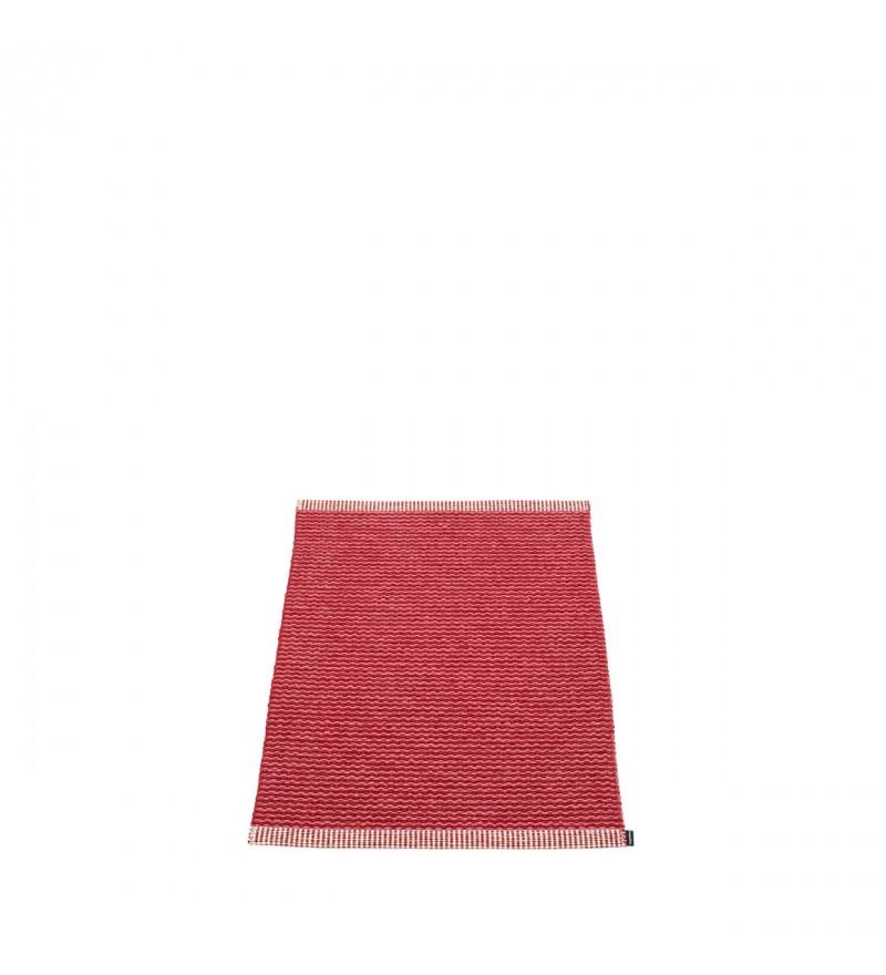 Chodnik MONO Pappelina - blush / dark red, różne rozmiary