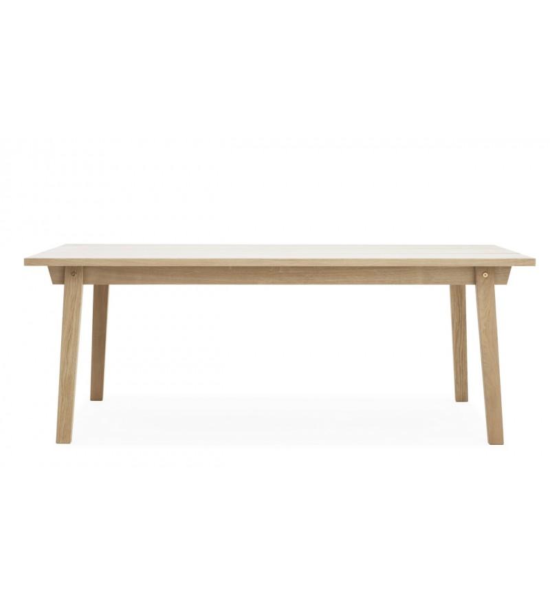 Stół SLICE TABLE 90 x 200 cm Normann Copenhagen - dąb