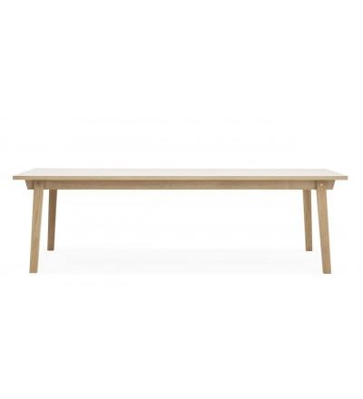 Stół SLICE TABLE 90 x 250 cm Normann Copenhagen - dąb