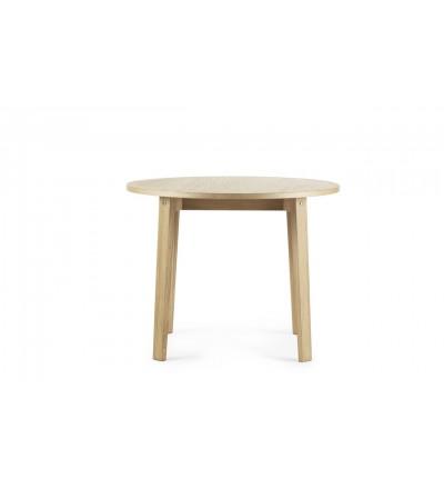 Stół SLICE TABLE Vol.2 Ø95 cm Normann Copenhagen - dąb
