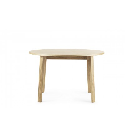 Stół SLICE TABLE Vol.2 Ø120 cm Normann Copenhagen - dąb