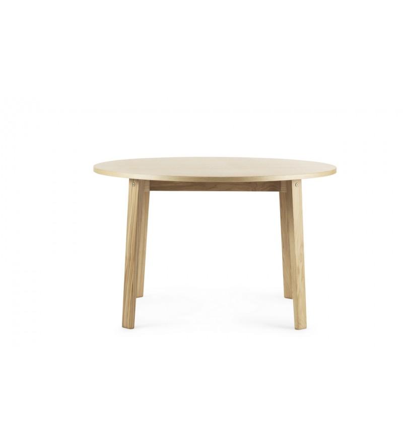 Stół SLICE TABLE Vol.2 Ø120 cm Normann Copenhagen - dąb