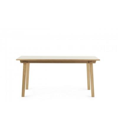Stół SLICE TABLE LINOLEUM 84 x 160 cm Normann Copenhagen - dąb, różne kolory