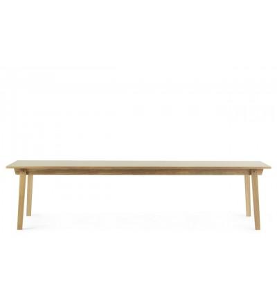 Stół SLICE TABLE LINOLEUM 90 x 300 cm Normann Copenhagen - dąb, różne kolory