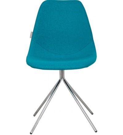 Krzesło Fourteen Chrome blue Zuiver