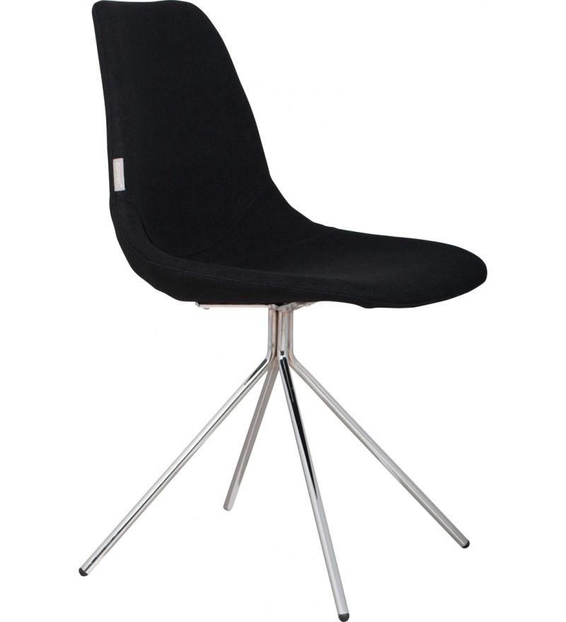 Krzesło Fourteen Chrome black Zuiver