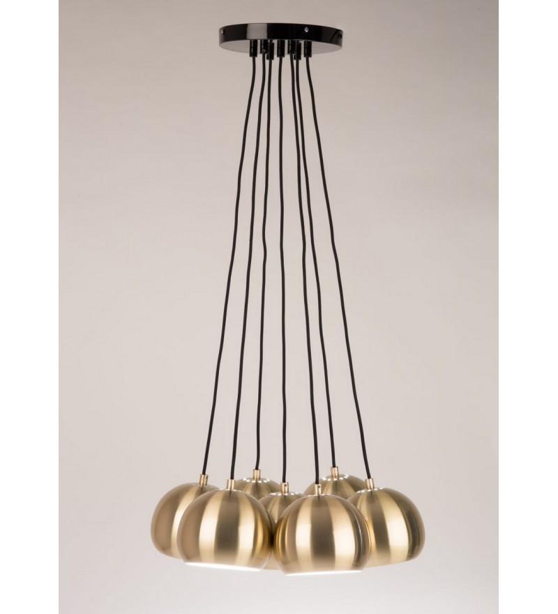 Lampa wisząca Multishine Zuiver - mosiądz