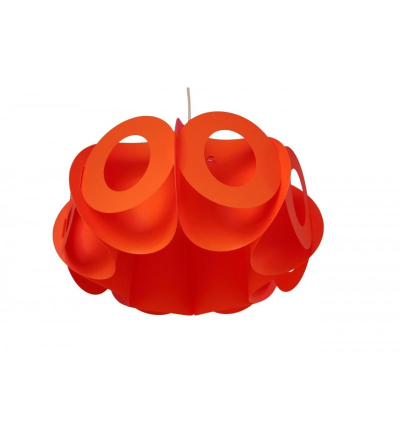 Lampa Oval R Kafti Design - czerwona