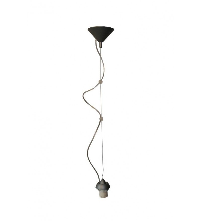 Zawieszenie lampy regulowane - czarne