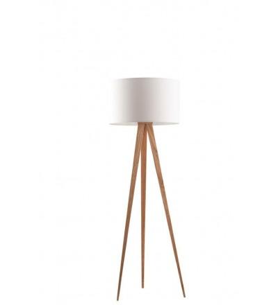 Lampa podłogowa Tripod Wood Zuiver - różne kolory
