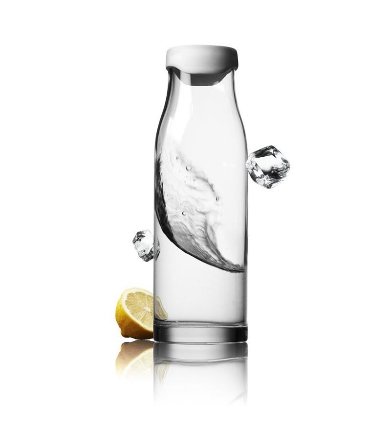 Menu karafka na wodę (białe zamknięcie)