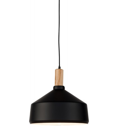 Lampa wisząca MELBOURNE It's about RoMi - czarna, wys. abażura 34 cm